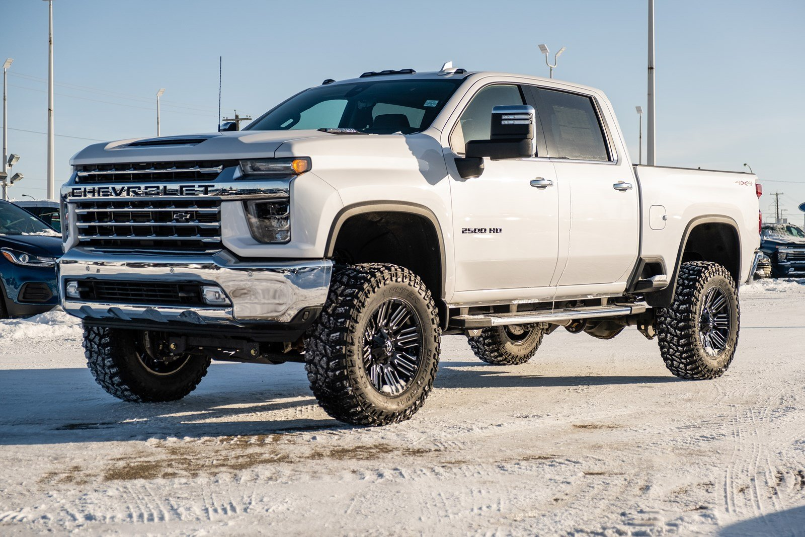 New 2020 Chevrolet Silverado 2500HD LTZ | 6in Lift, 22in Fuel Wheels, Tonneau Cover 4WD Crew Cab Pickup