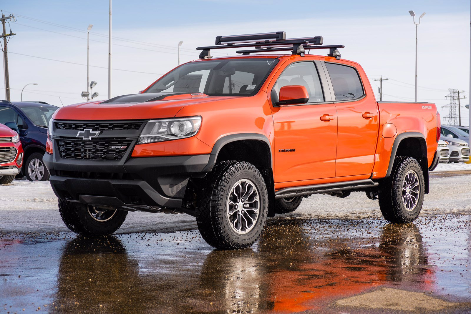 New 2020 Chevrolet Colorado 4WD ZR2 4WD Crew Cab Pickup