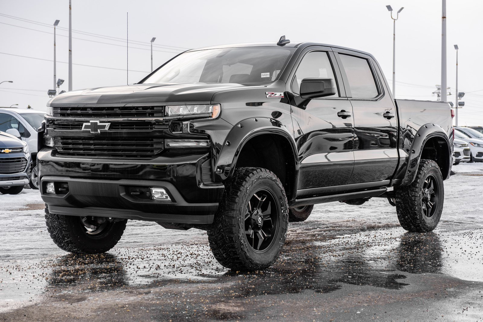 New 2019 Chevrolet Silverado 1500 RST | 6in Lift, 20in Wheels, Perf. Exhaust 4WD Crew Cab Pickup