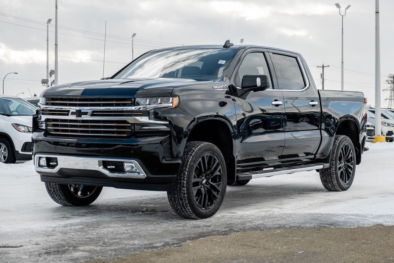 New 2020 Chevrolet Silverado 1500 High Country | 3.5in Lift, Exhaust Kit, Tonneau Cover 4WD Crew Cab Pickup