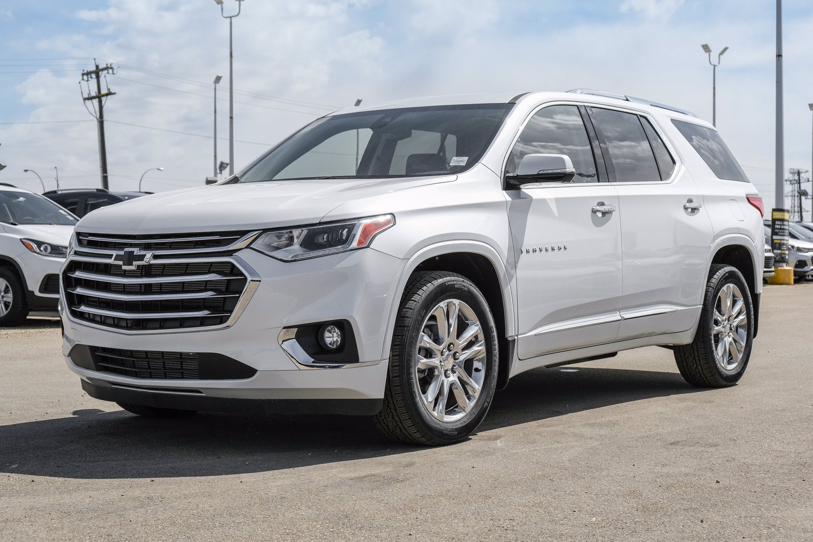 new 2020 chevrolet traverse high country awd sport utility