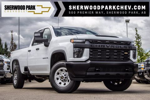 New 2020 Chevrolet Silverado 2500HD Work Truck 4WD Extended Cab Pickup