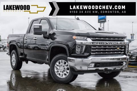 New 2020 Chevrolet Silverado 2500HD LTZ 4WD Extended Cab Pickup