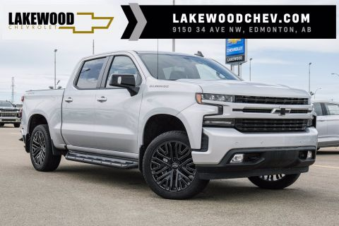 2019 Chevrolet Silverado 1500 RST | 2in Level Suspension, 22in Rims, Performance Exhaust, Side Steps, Tonneau Cover