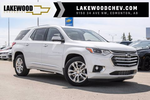 2020 Chevrolet Traverse High Country DEMO | 3M Protection, A/W Floor Liners, Mud Flaps